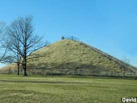 Burial Mound in Miamisburg.