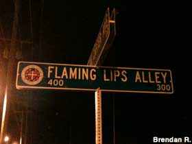 Flaming Lips Alley.