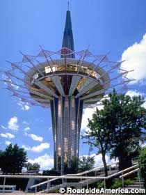 Oral Roberts Prayer Tower.