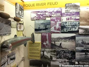 Rogue River: a region rich with feuds.