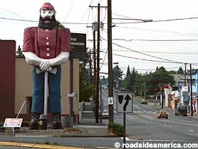 Paul Bunyan in Portland, Oregon.