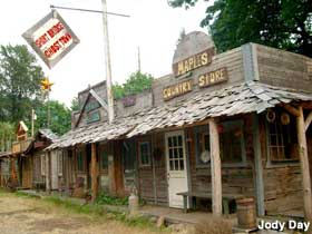 Ghost Towns In Oregon Map.Foster Or Short Bridge Fake Ghost Town