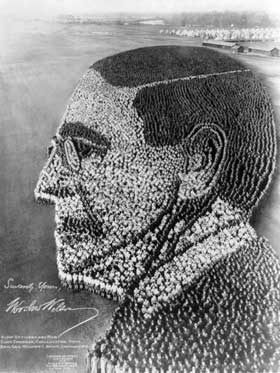 Command us, Woodrow Wilson made of 21,000 soldiers.