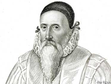 John Dee: possible Tower designer, and definite later model for sword and sorcery wizards.