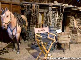 Dances with Wolves props.