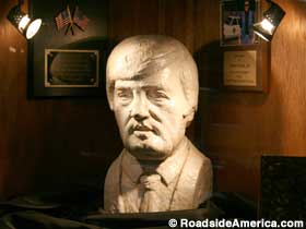 Bust of Buford Pusser.