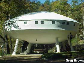 UFO Space House.