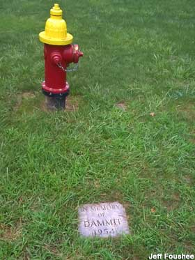 Grave of Dammit the Dog.