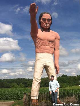 Big Indian Muffler Man.