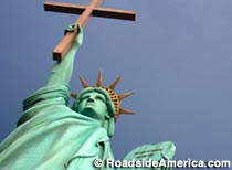 Statue of Liberation Through Christ
