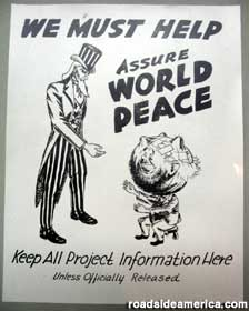 World Peace poster.