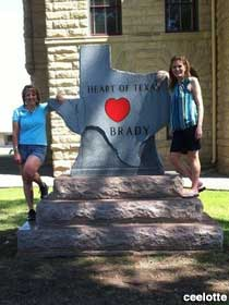 Heart of Texas monument.