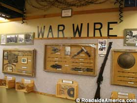 War Wire exhibit.