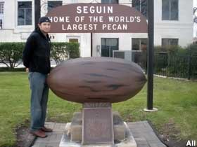 Home of the World's Largest Pecan.