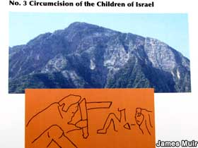Circumcision on the mountain.
