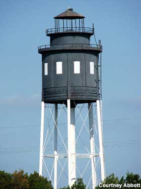 Lighthouse Water Tower.