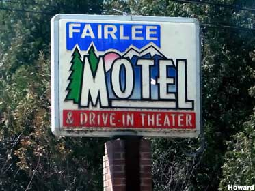 Fairlee Motel and Drive-In Theater.