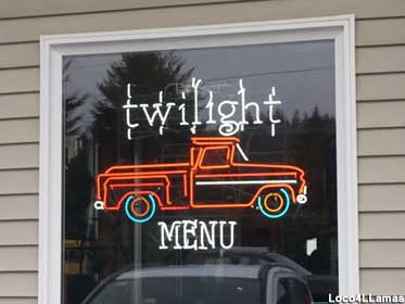 Twilight Menu neon.