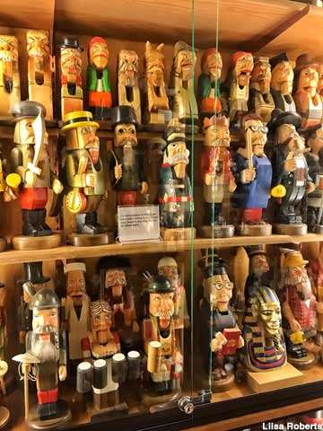 Collection of nutcrackers.