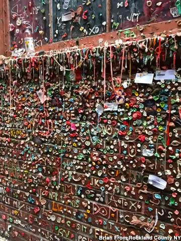 The Gum Wall.