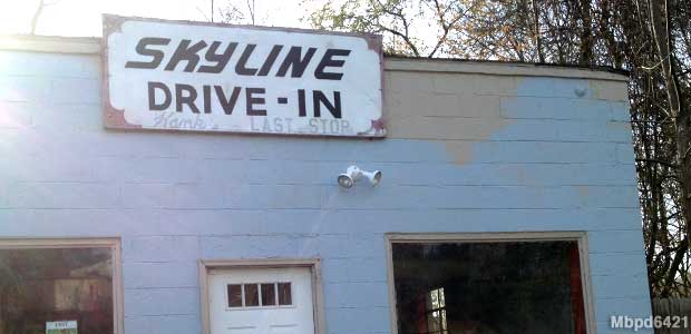 Skyline Drive-In.