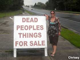 Dead Peoples Things for Sale.