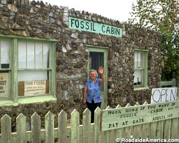 Fossil Cabin and Ethel Nash, 1991.