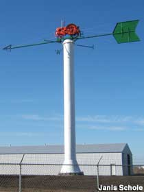 World's Largest Tractor Weather Vane.