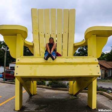 World's Largest Muskoka Chair.