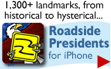 Roadside Presidents app