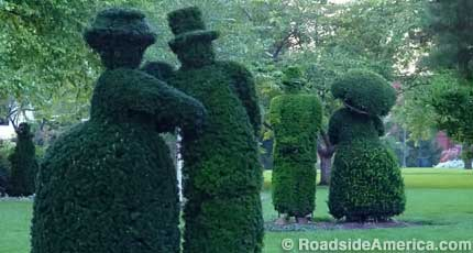 Topiary French People